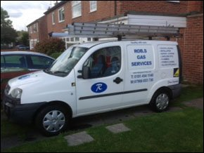 rob s gas services van